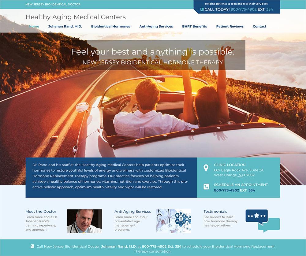 New Jersey Bioidentical Doctor Website