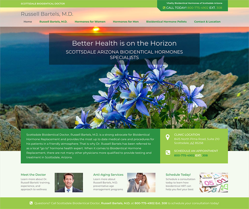 Scottsdale Doctor Website