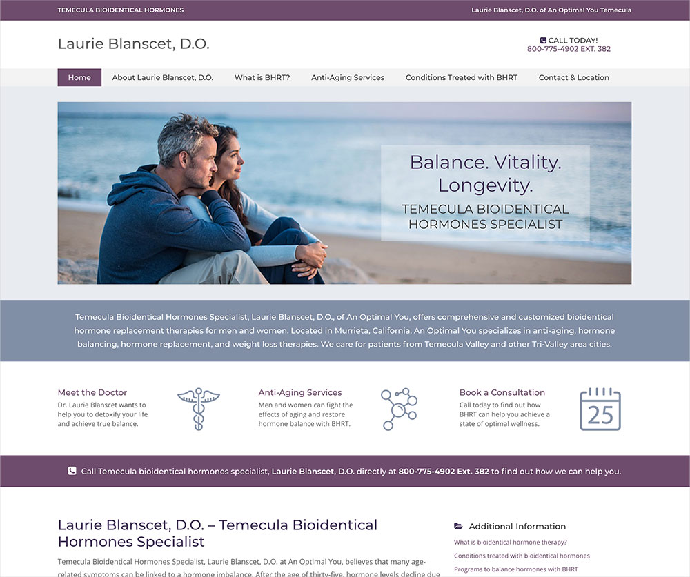 Temecula-Doctor-Website